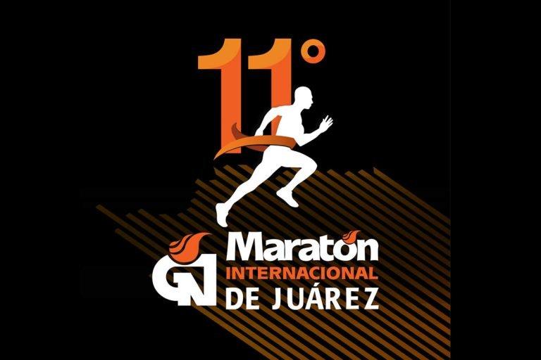 Correr en la frontera en el Maratón Internacional de Ciudad Juárez 2020