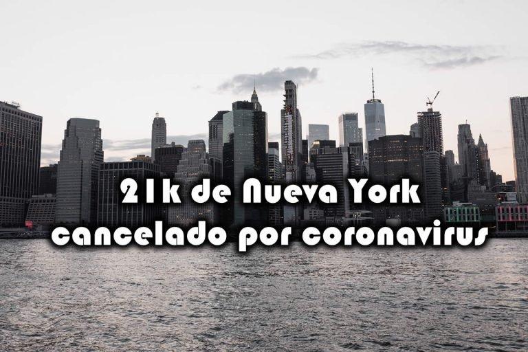 Medio Maratón de Nueva York cancelado por riesgo de coronavirus