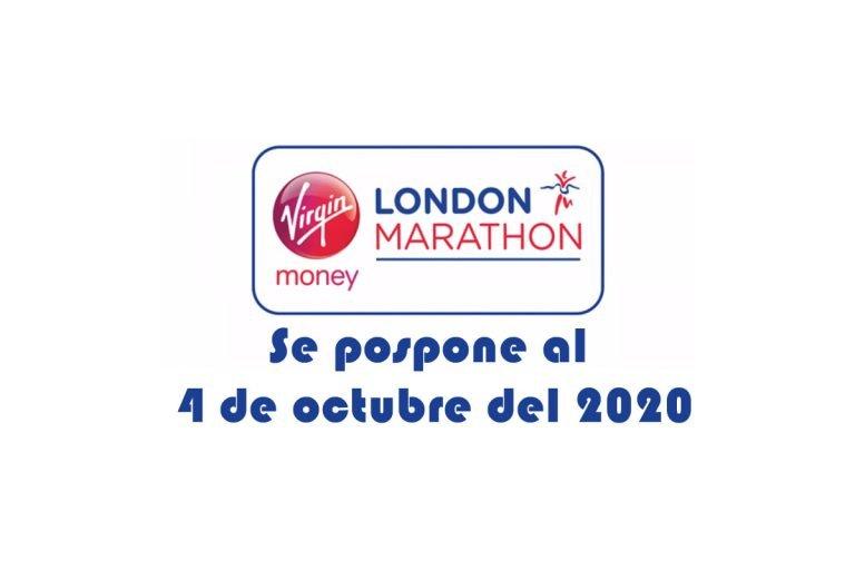 Se pospone el Maratón de Londres será el 4 de octubre del 2020