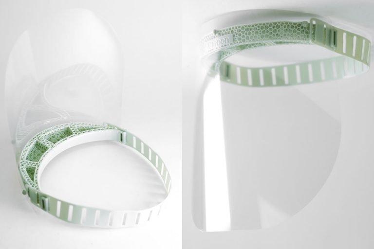 Adidas y Carbon producen protectores faciales impresos en 3D