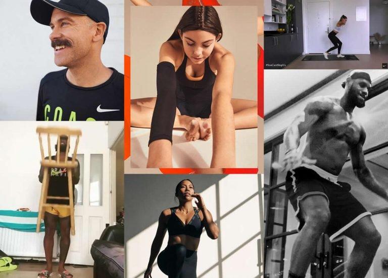 All The Ways Nike está ayudando a los atletas a jugar adentro – para el mundo