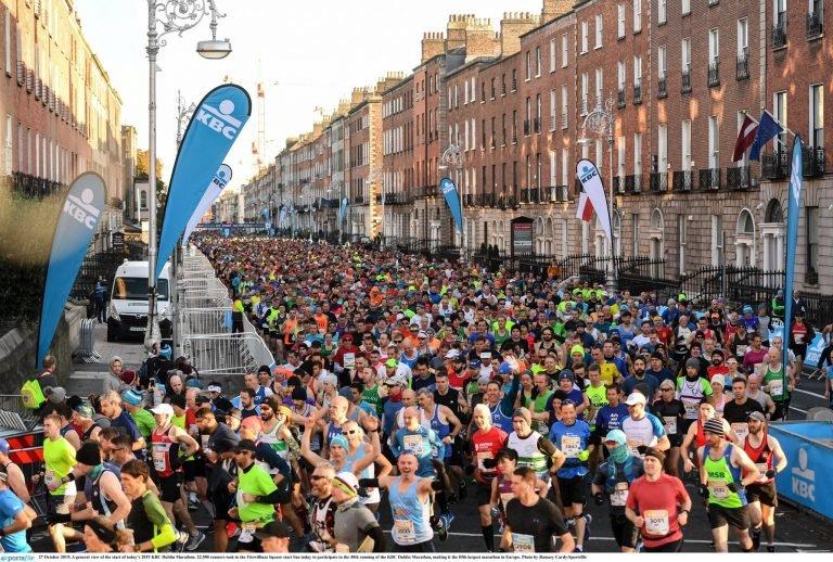 Maratón de Dublín corre en la bella costa este de Irlanda