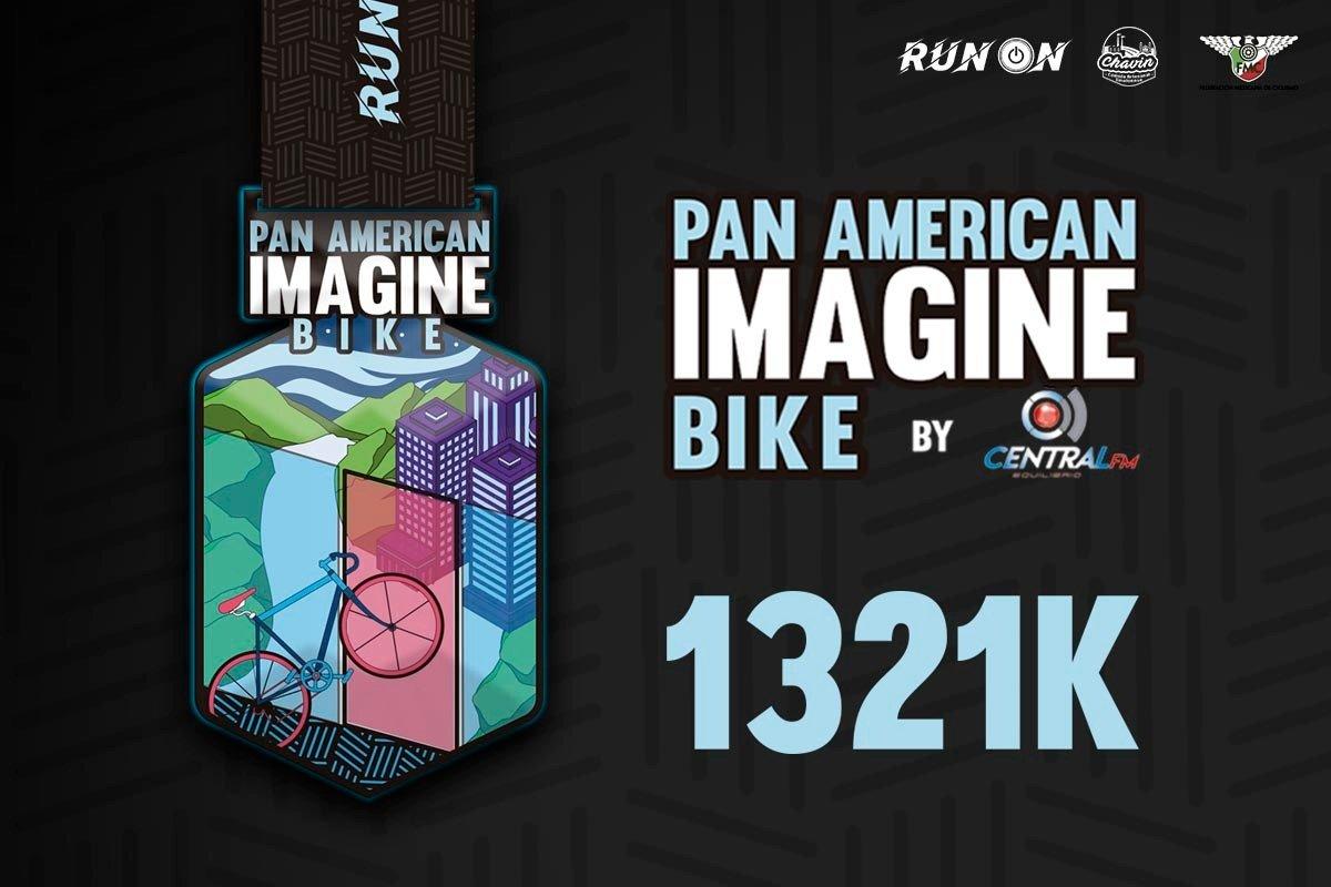 PAN AMERICAN BIKE 2,642K (rodada virtual)