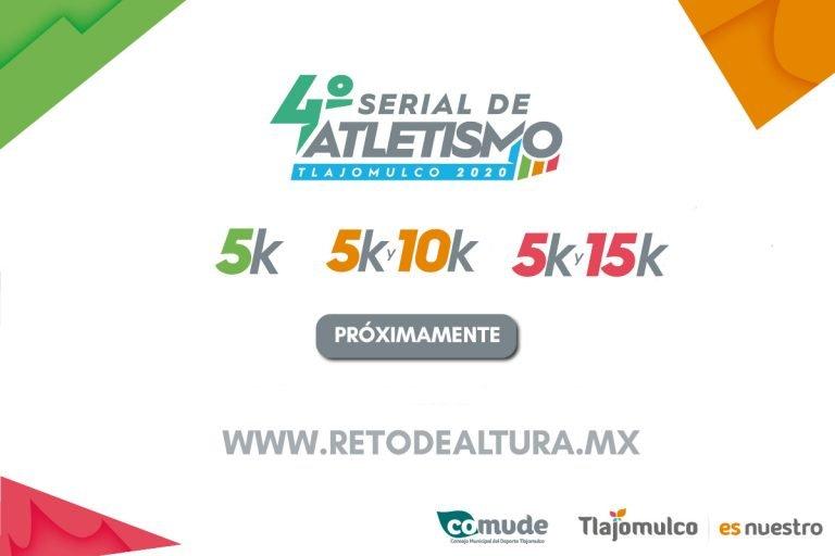 4to Serial de Atletismo Tlajomulco 2020, 3 carreras para correr 5k, 10k & 15k