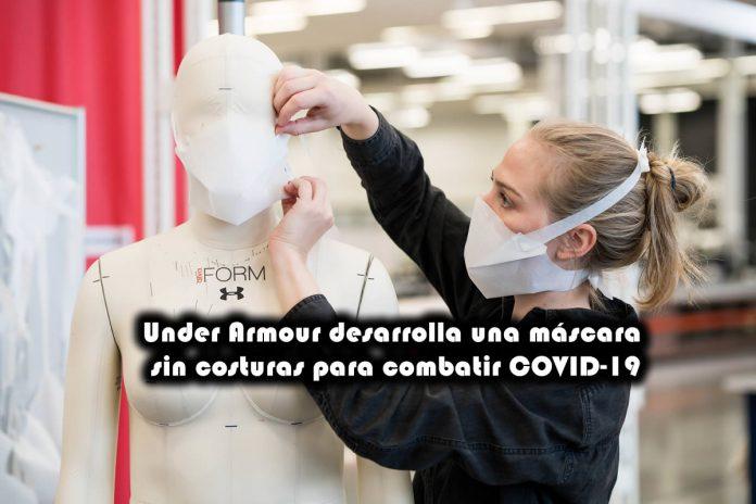 Under Armour desarrolla una máscara sin costuras para combatir COVID-19