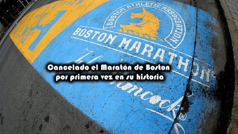 Cancelado el Maratón de Boston por primera vez en su historia