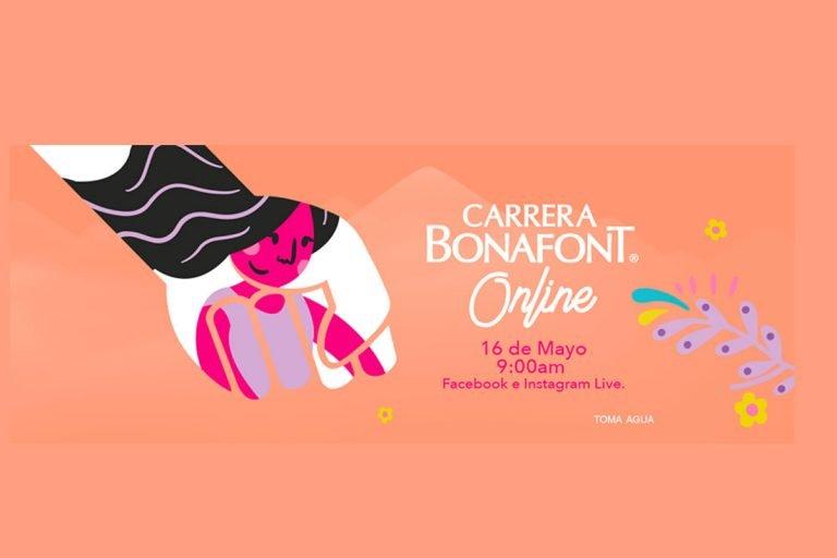 #CarreraBonafontOnline corre con causa para un México Libre de violencia contra las mujeres