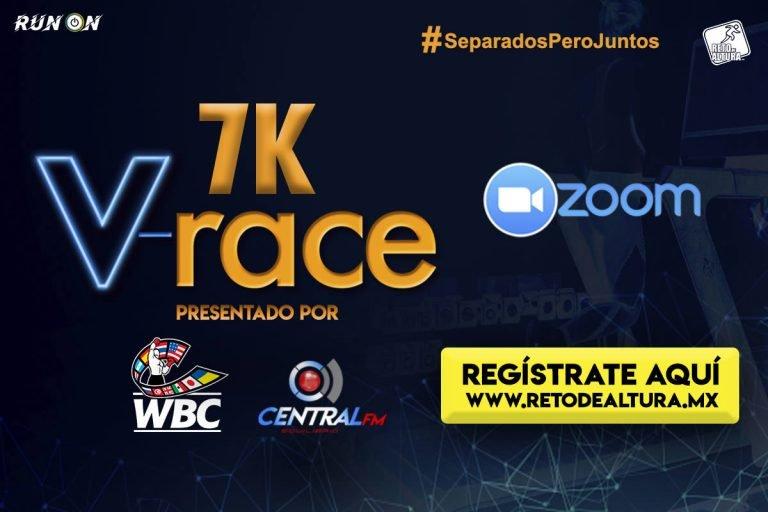 Carrera virtual V-RACE 7K by reto de altura & el consejo Mundial de boxeo
