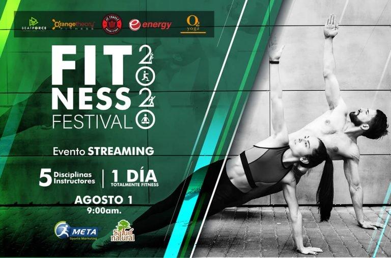 Fitness Festival Virtual 2020, un evento para amantes del fitness