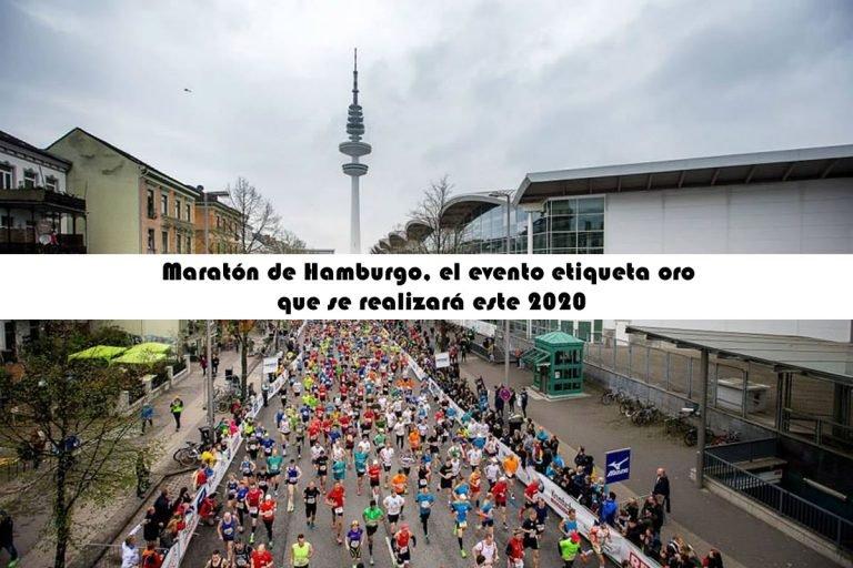 Maratón de Hamburgo, el evento etiqueta oro que se realizará este 2020
