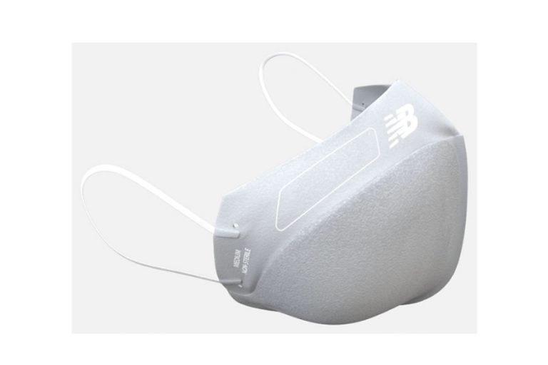New Balance Face Mask V3, mascarilla de 3 capas ideal para atletismo.
