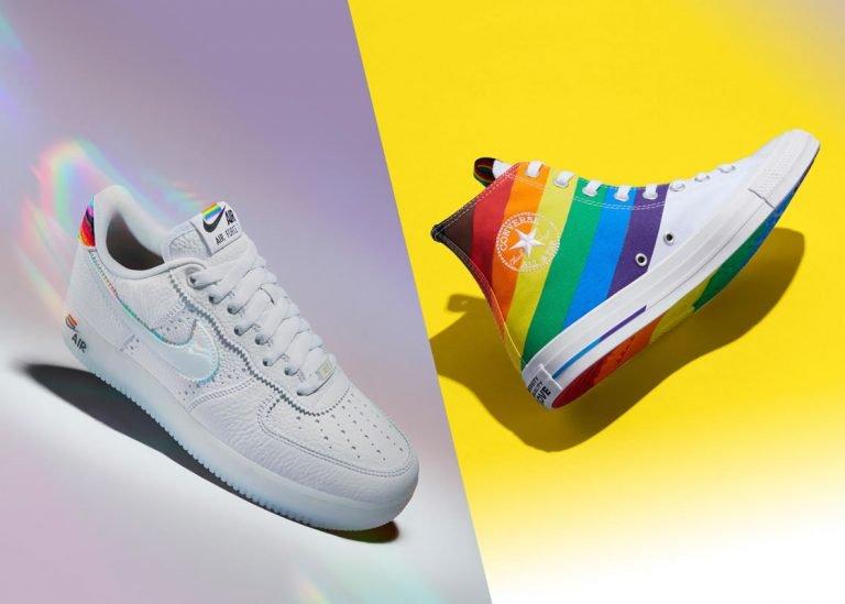 Dentro de las colecciones de calzado Nike BeTrue 2020 y Converse Pride