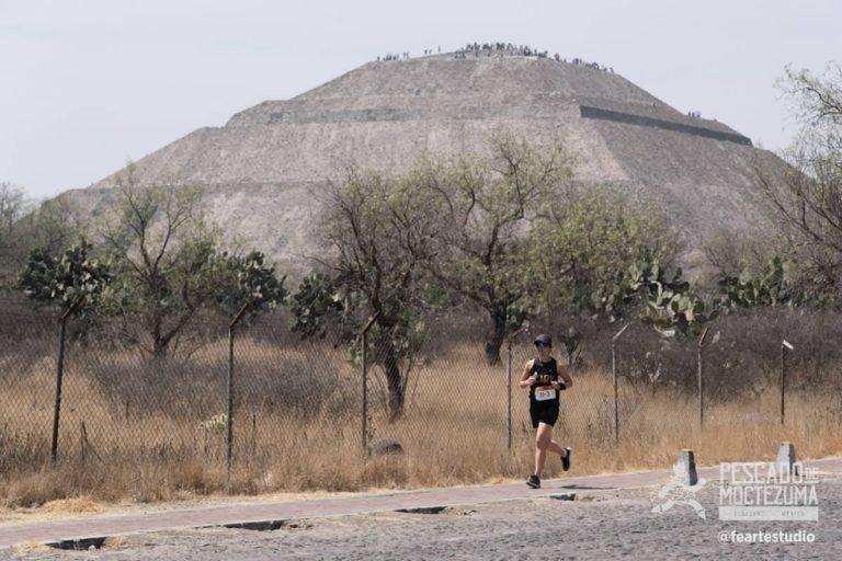 Corre desde la costa de Veracruz hasta la ciudad antigua de Teotihuacán en el Pescado de Moctezuma