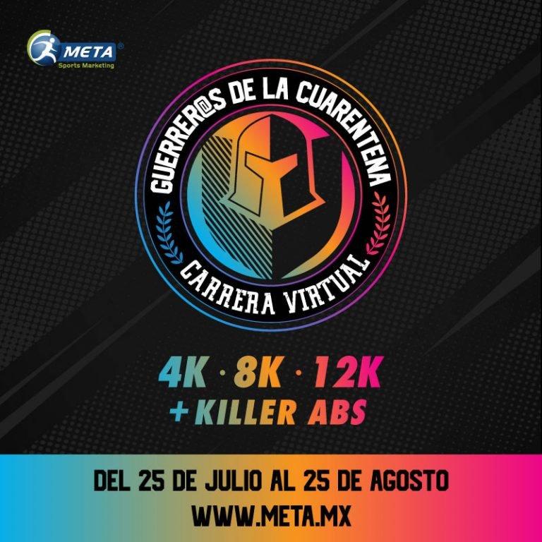 Guerreros de la cuarentena 2020, corre  4K – 8k – 12k más killer abs