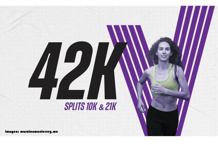Lanzan el Maratón Powerade Monterrey virtual 2020 y sus splits de 10k & 21k