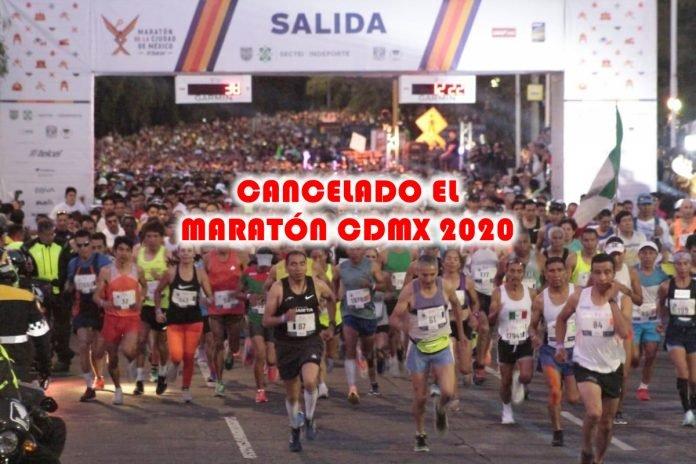 Se cancelan el Maratón de la Ciudad de México Telcel 2020 y el Medio Maratón de la Ciudad de México BBVA 2020