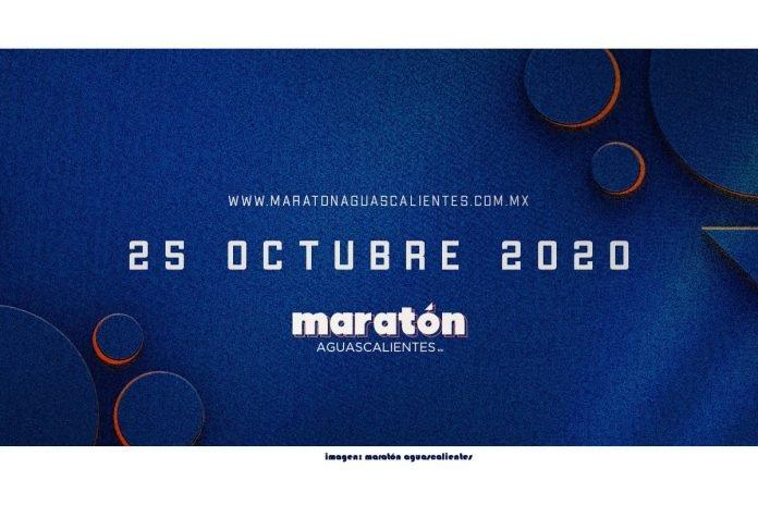El Maratón de Aguascalientes se realizará el 25 de octubre del 2020