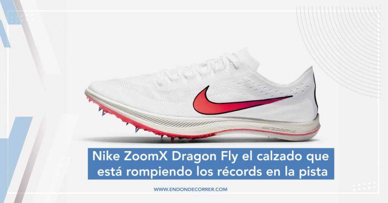 Nike ZoomX Dragon Fly el calzado que está rompiendo los récords en la pista