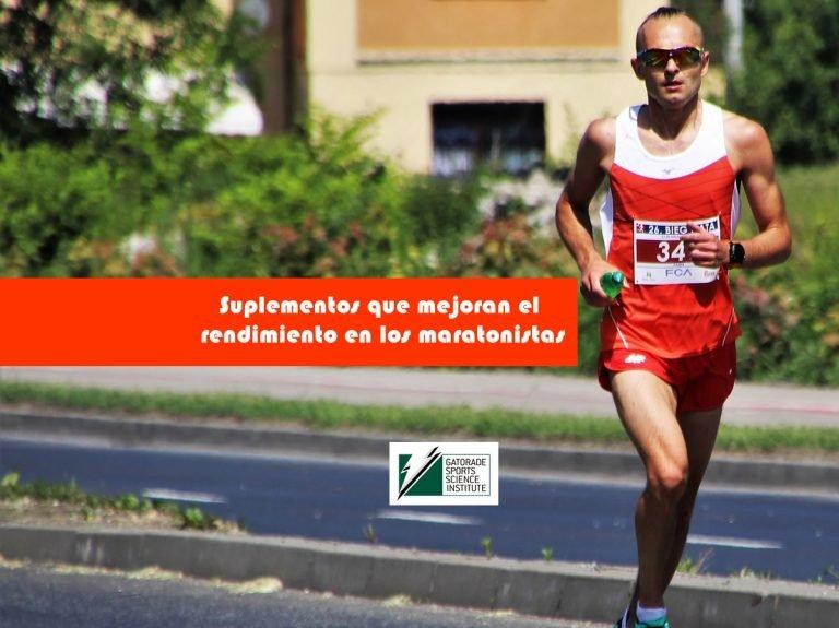 Suplementos que mejoran el rendimiento en los maratonistas