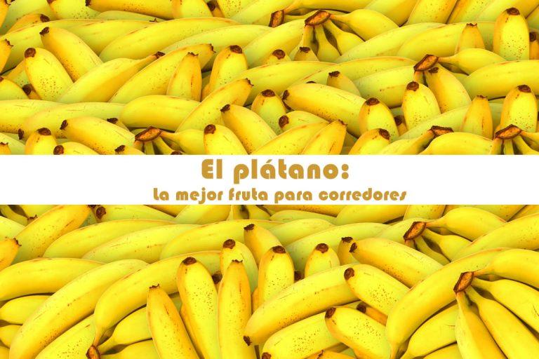 El plátano: La mejor fruta para corredores