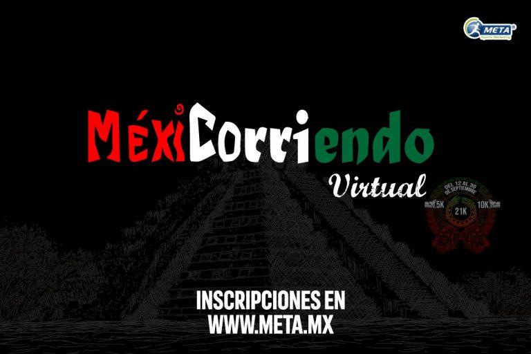 Mexicorriendo Virtual, celebra el mes patrio corriendo