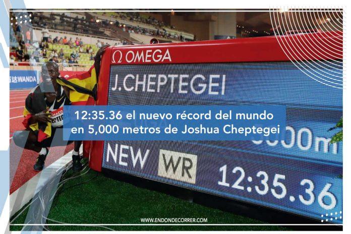 récord del mundo en 5,000 metros
