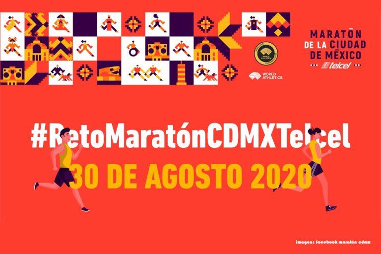 Lanzan el reto Maratón CdMx Telcel para celebrar de manera simbólica la edición 2020