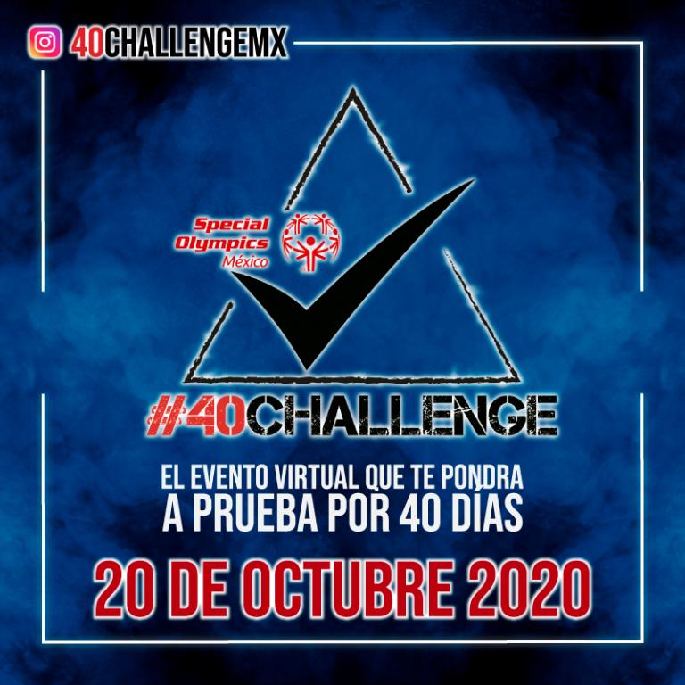 Antonio Rosique te invita a entrenar 40 días con causa en #40Challenge