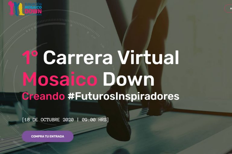 Carrera Virtual Mosaico Down, apoya a personas con Síndrome de Down