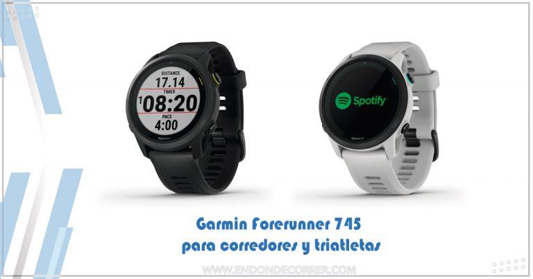 Garmin Forerunner 745 para corredores y triatletas
