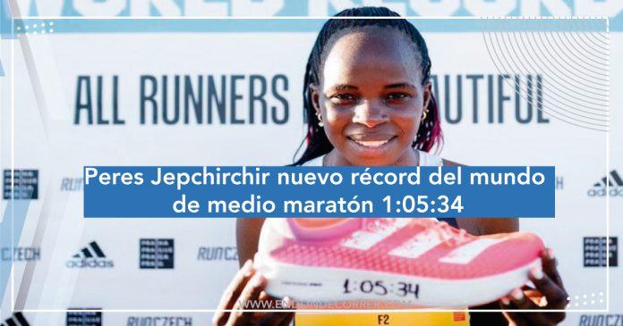 Peres Jepchirchir nuevo récord del mundo de medio maratón