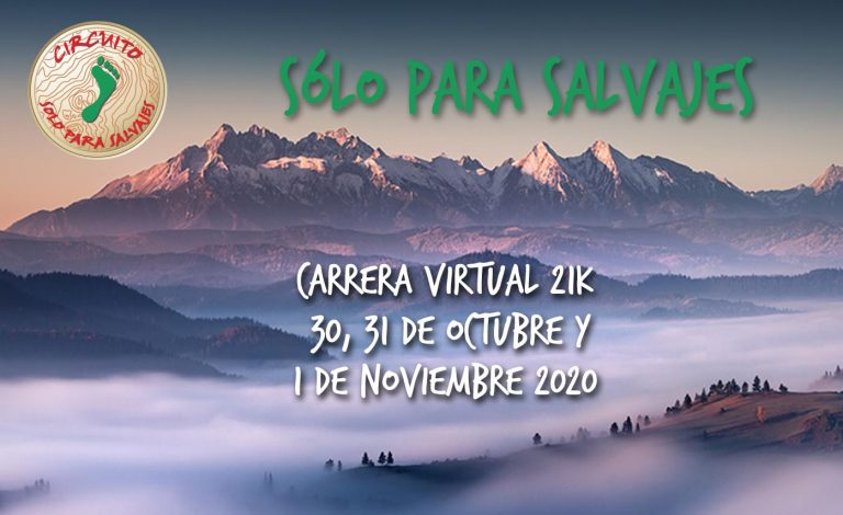 Corre con causa en Carrera Virtual Sólo Para Salvajes