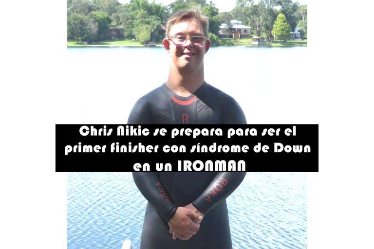 Chris Nikic se prepara para ser el primer finisher con síndrome de Down en un IRONMAN