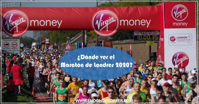 Dónde ver el Maratón de Londres 2020