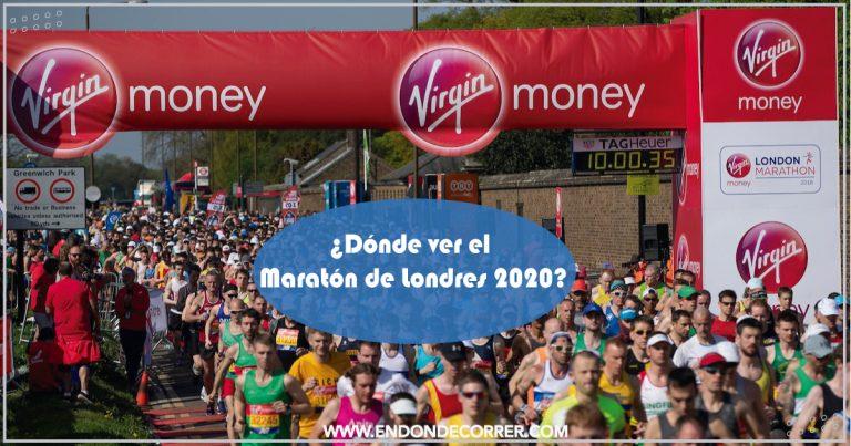 ¿Dónde ver el Maratón de Londres 2020?