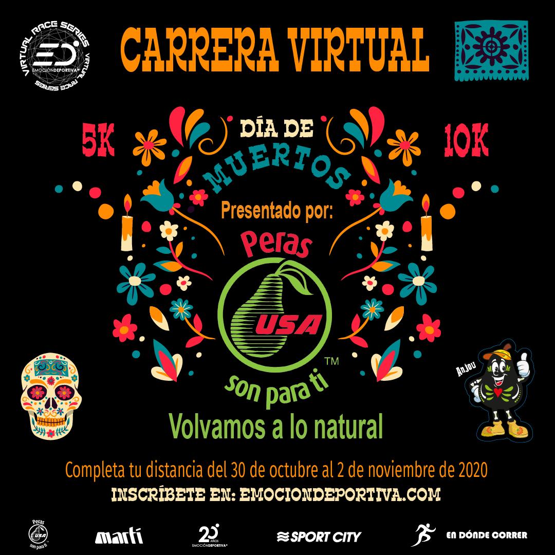 Carrera Virtual día de muertos 2020