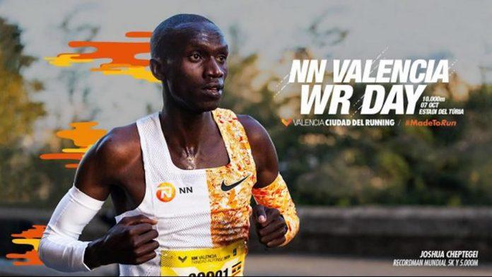 Joshua Cheptegei intentará romper el récord mundial de los 10000 metros