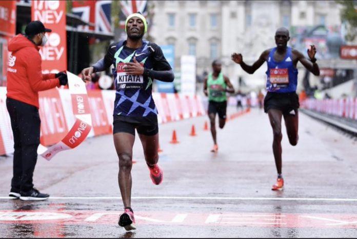 Kitata sorprende con sorprendente victoria en el Maratón de Londres