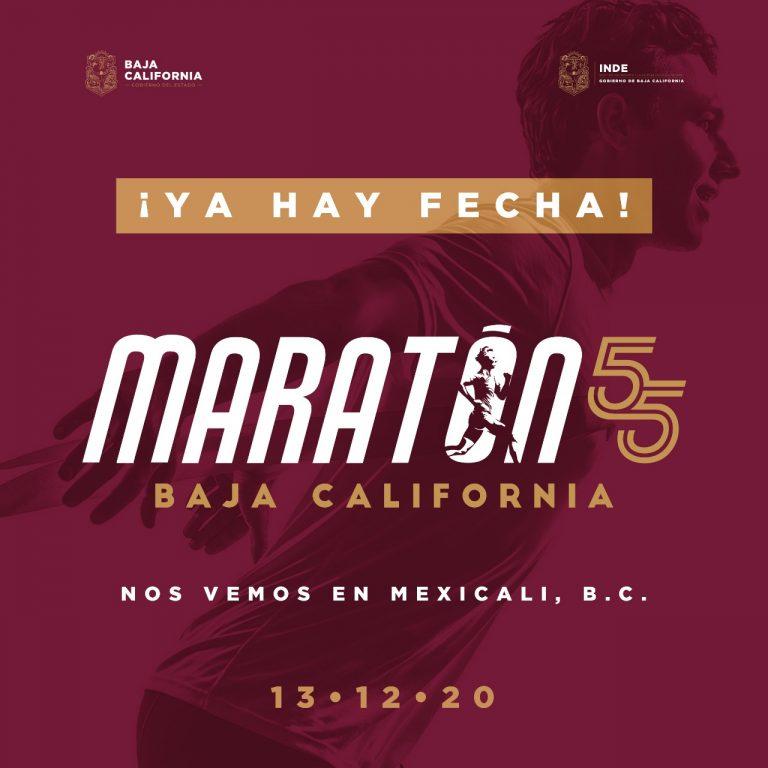 Confirmada la edición 55 del Maratón de Baja California 2020