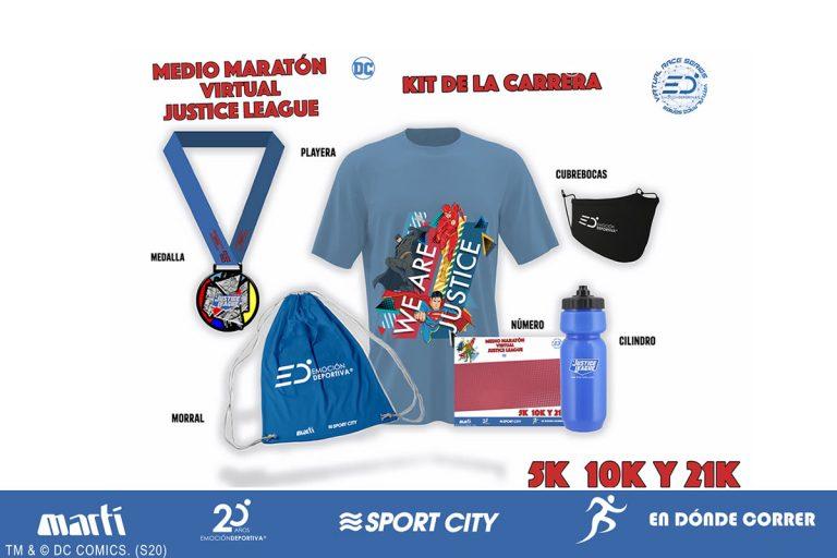 Llega el Medio Maratón Virtual Justice League 2020