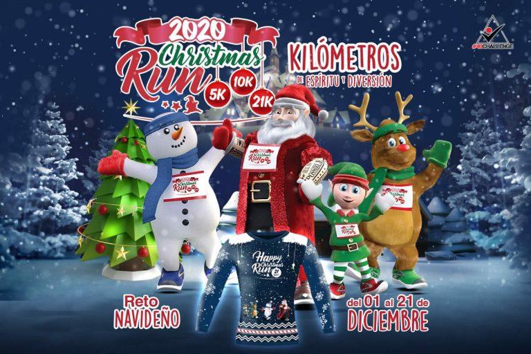 Christmas Run #RetoNavideño corre 21 kilómetros en 21 días