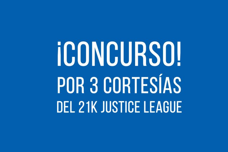 Concurso Medio Maratón Virtual Justice League 2020