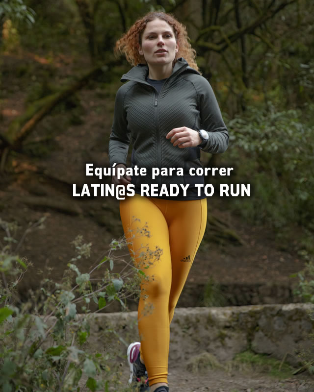 Equípate para correr LATIN@S READY TO RUN