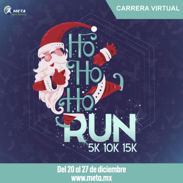 Celebra la navidad en Ho Ho Ho RUN 5K 10K & 15K