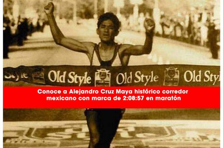 Conoce a Alejandro Cruz Maya histórico corredor mexicano con marca de 2:08:57 en maratón