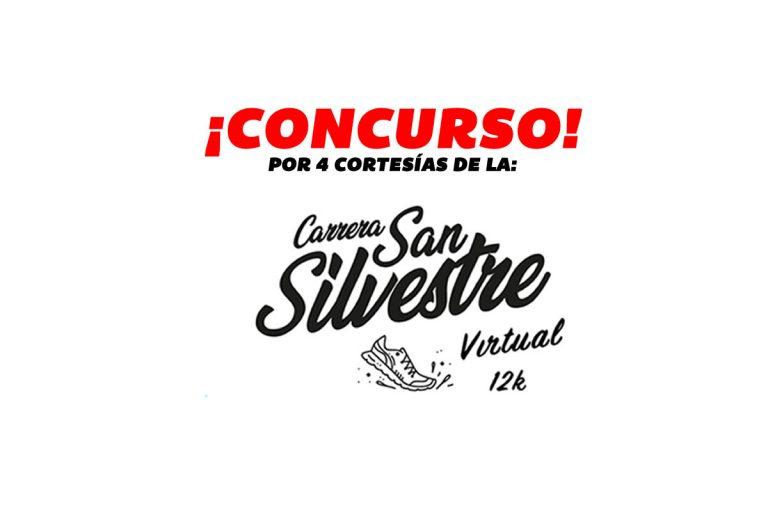 CONCURSO POR 4 CORTESÍAS DE LA CARRERA SAN SILVESTRE VIRTUAL 2020
