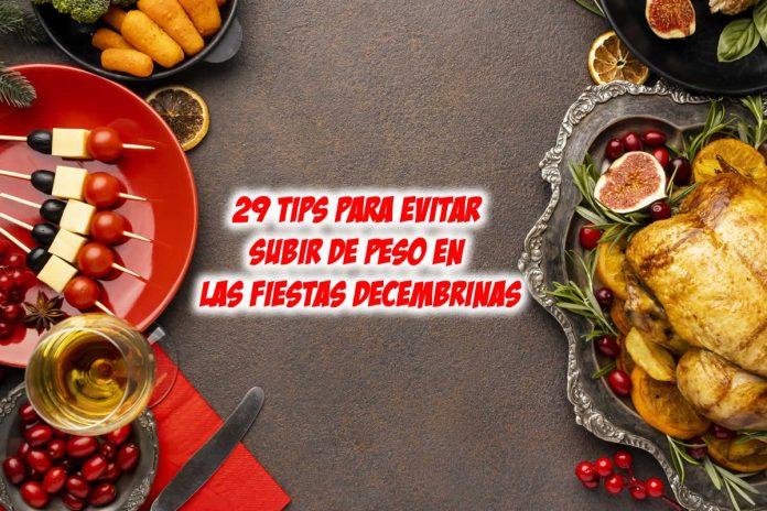 29 Tips para evitar subir de peso