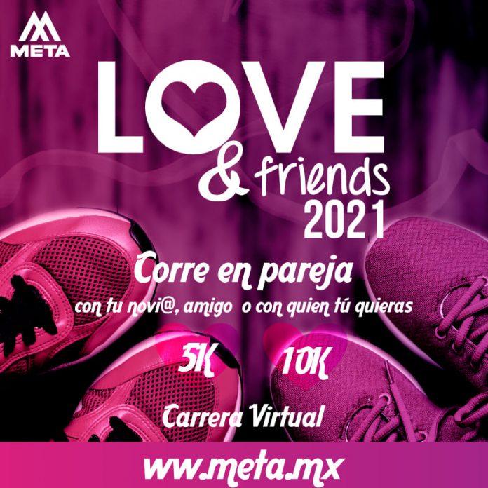 LOVE & FRIENDS VIRTUAL RUN 2021