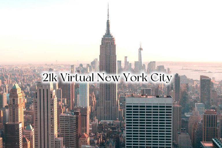 Corre el Medio Maratón virtual United Airlines New York City