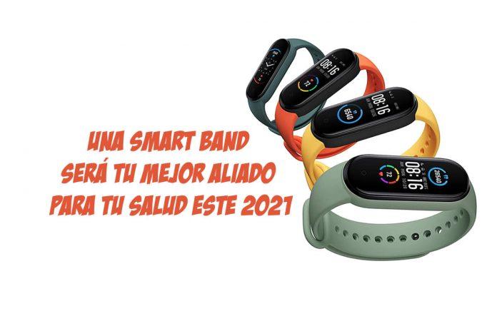 Una Smart Band será tu mejor aliado para tu salud este 2021